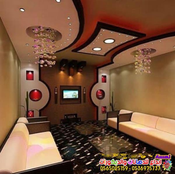 احدث ديكورات شاشات بلازما جبس بورد بجده 2019 Ceiling Design House Ceiling Design Living Room Design Decor