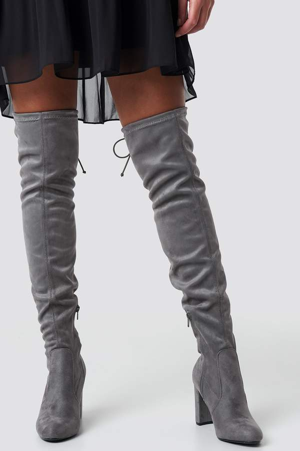 8d9a670bcc4 Overknee High Heel Boot in 2019 | Products | High heels, Shoes, High ...