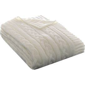 Beth Throw in Ivory