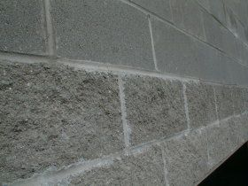 Here Are Two Different Styles Of Concrete Block The First