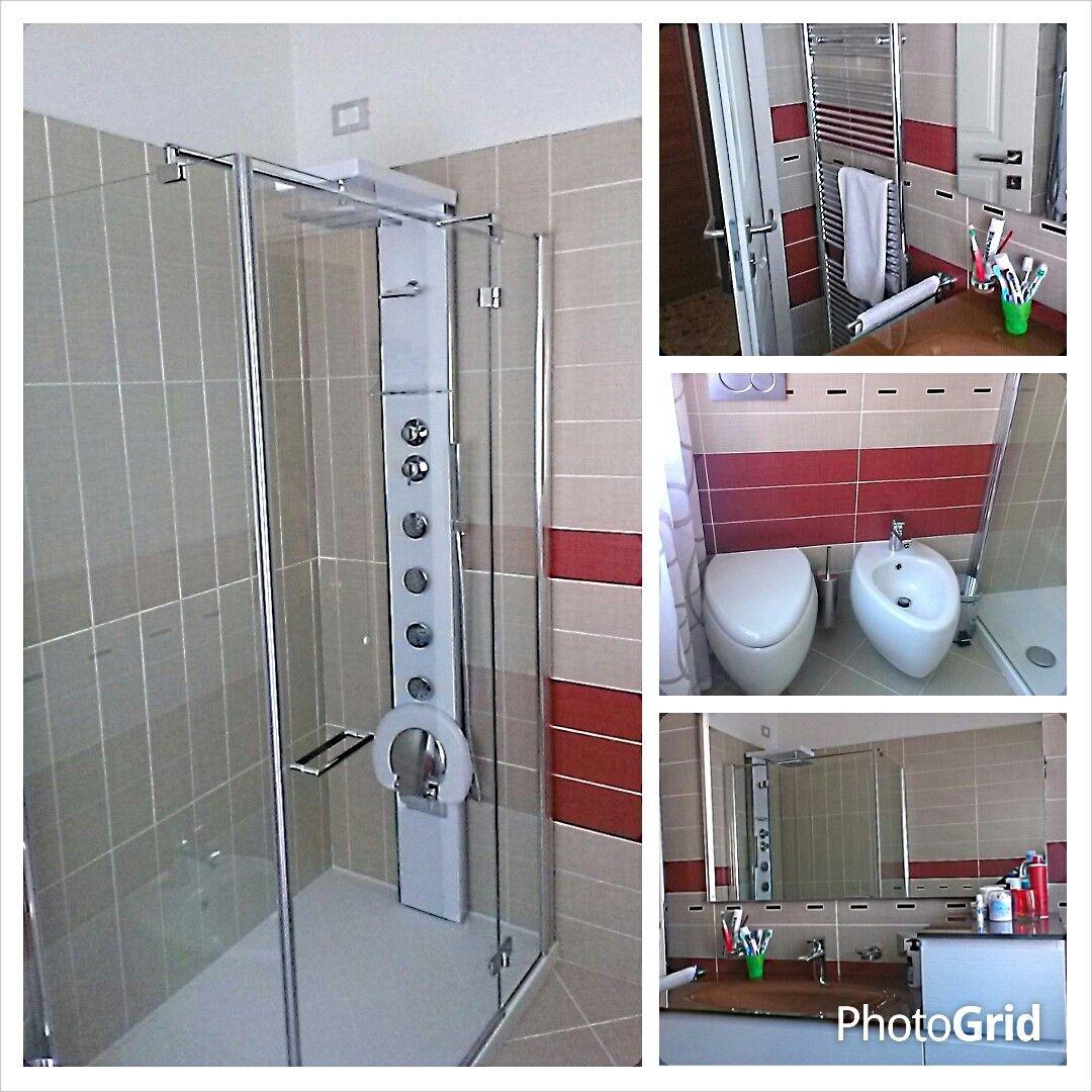 Eravamo entrati per rifare le tende della casa e...finite quelle la cliente ha voluto anche la progettazione del bagno. DOPO
