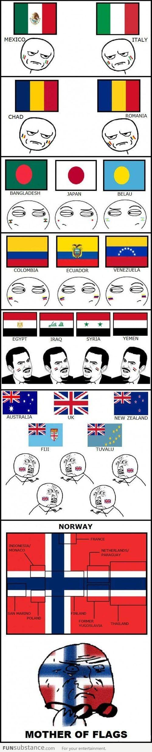 Suspiciously Similar Flags Funsubstance Really Funny Memes Stupid Funny Memes Stupid Memes