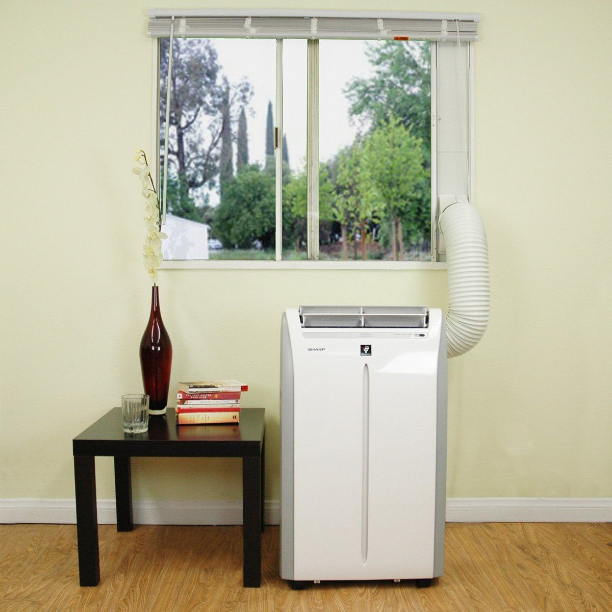 Vertical Window Air Conditioner Canada Portable Air Conditioner With Sliding Glass Door Kits Small