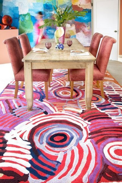 Rugs Celebration By Minnie Pwerle Indigenous Artist Designer Australia