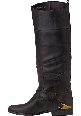 Currently on the lookout for some brown riding boots like these.