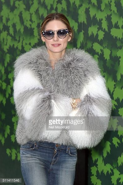 Olivia Palermo seen at Emilia Wickstead AW16 on February 20, 2016 in London, England.