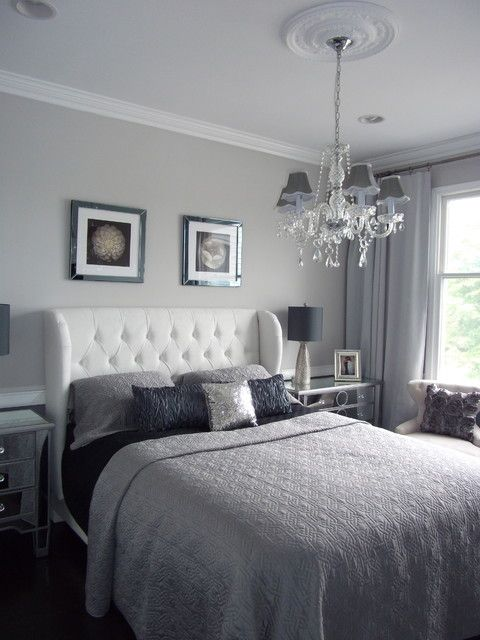 Beautiful BEDROOM U2013 Guest Bedroom U2013 Home Staging New Jersey, Home Stager, Grey, Silver,  Real Estate Home Staging   Modern   Bedroom   Newark   DYS Home Staging In  N. ...