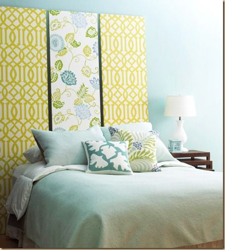 Easy Decorating Updates with Fabric | Wraps, Fabrics and Board