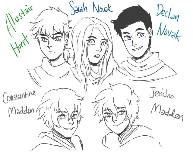 The previous generation of Master Rufus' kids