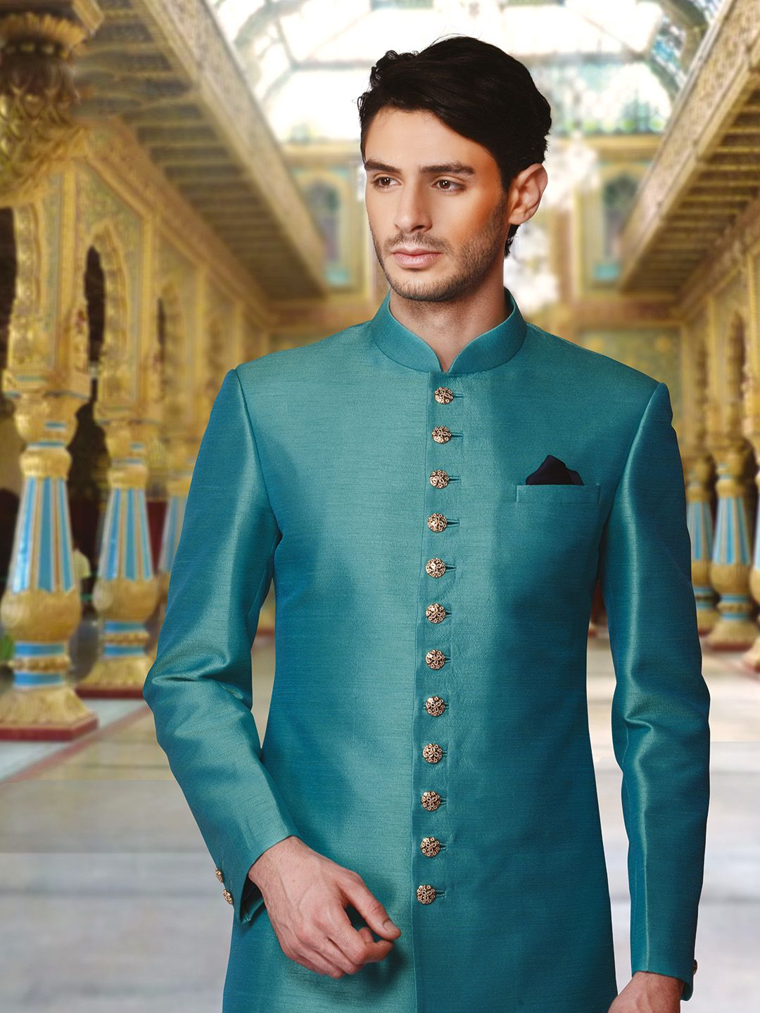 Shop for the latest Mens Indo western sherwanis and Mens indo ...