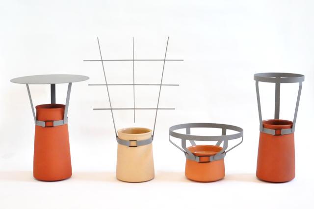 Sur Les Toits Realise Pour Claire Baudrimont Et Pierre Yves Le Sonn Designers A Paris Gagne Le Prix Design De La Xxiieme Biennale De Vallauris