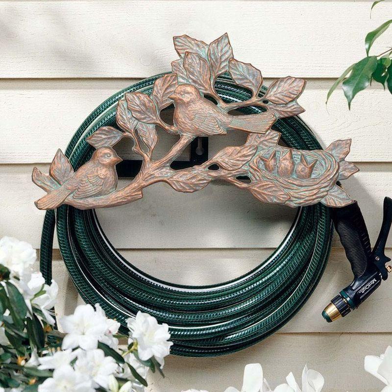 Decorative Garden Hose Holders Garden hose holder, Hose
