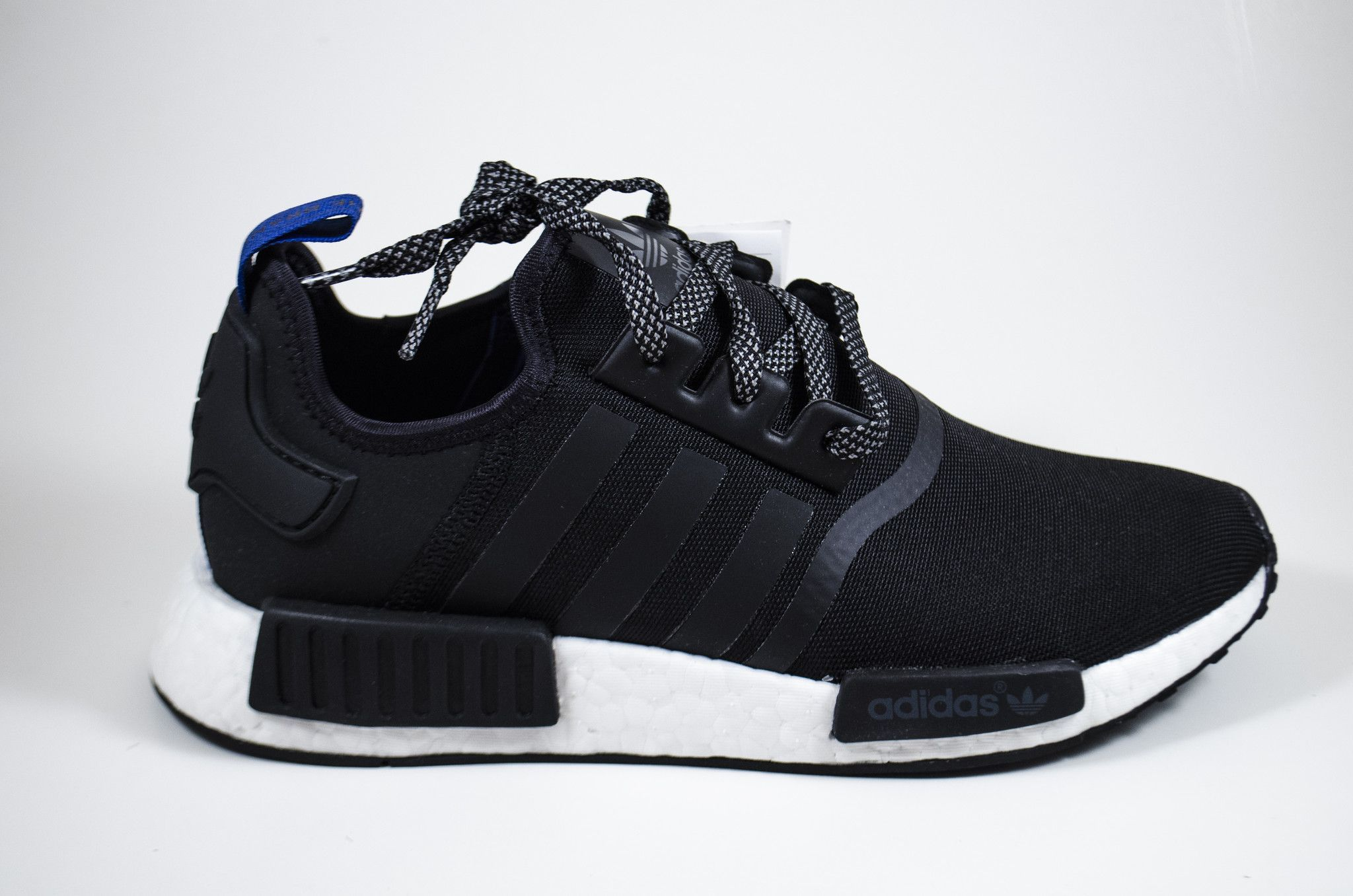 the latest be833 86c44 ADIDAS NMD R1  BLUE TAB