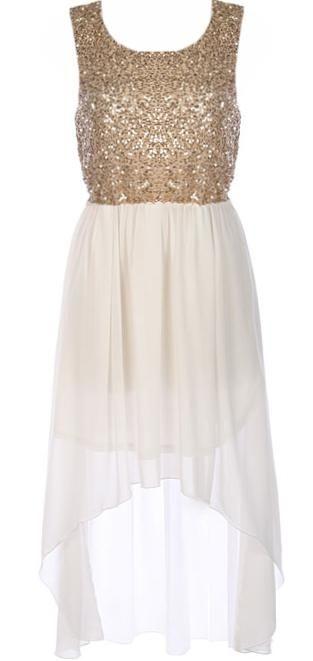 Trailing Goddess Dress