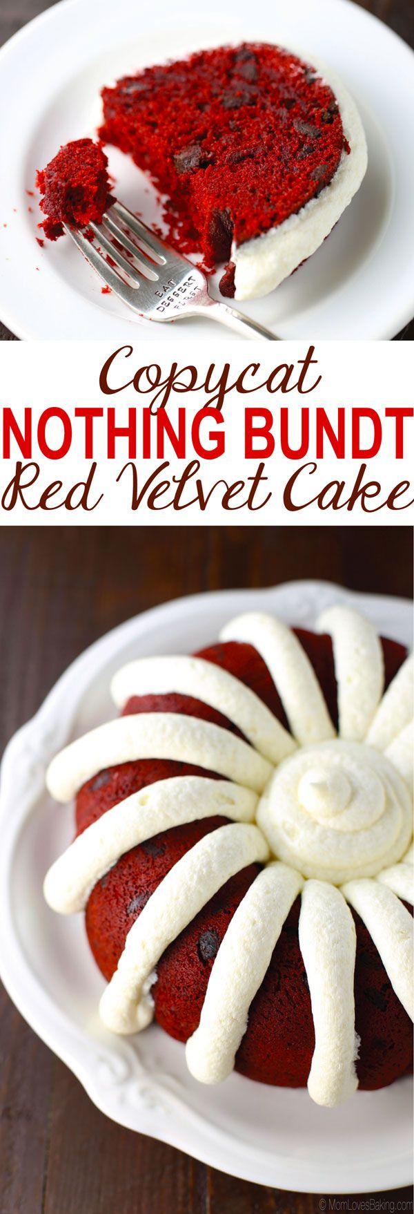 Nothing Bundt Cake Carrot Cake Recipe