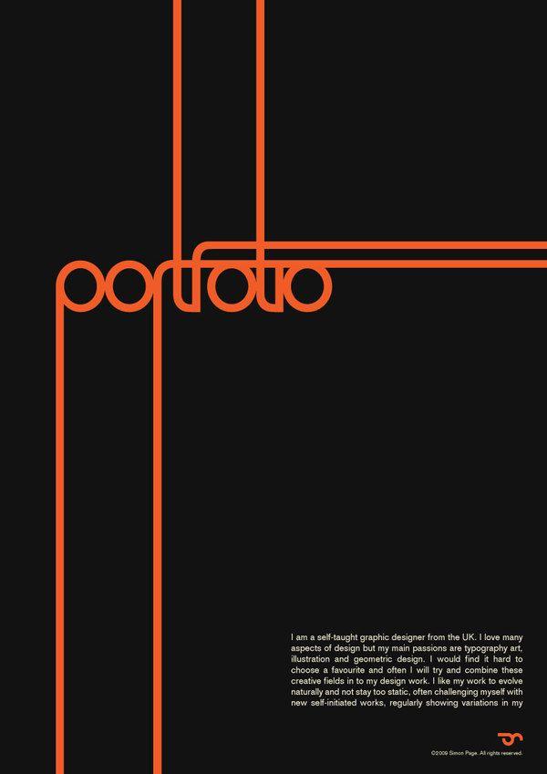 portfolio   Portfolio cover design, Portfolio design ...