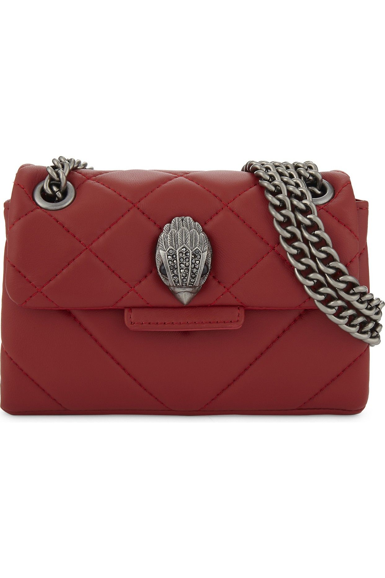 fcbf83ad7591 KURT GEIGER LONDON - Mini Kensington quilted leather cross-body bag |  Selfridges.com