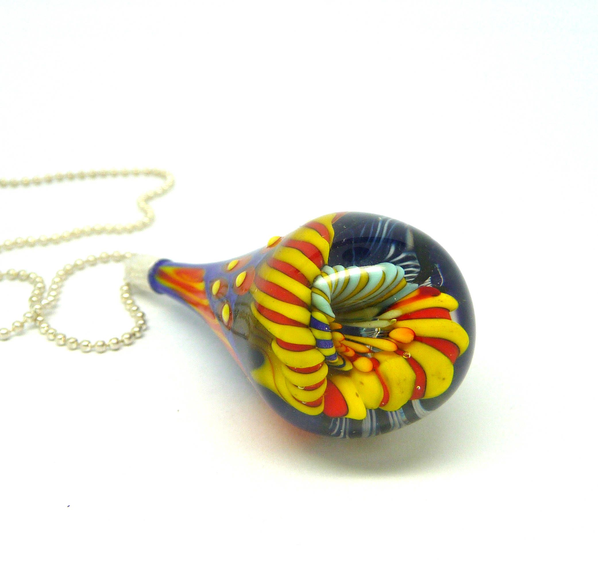 art products bead necklace glass alternatives