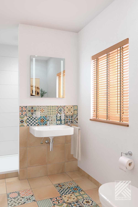 Musterbad Sevilla   HORNBACH   Kleine badezimmer inspiration ...
