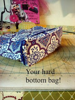 Bumblebee Bags: Adding a Hard Bottom to Your Bags