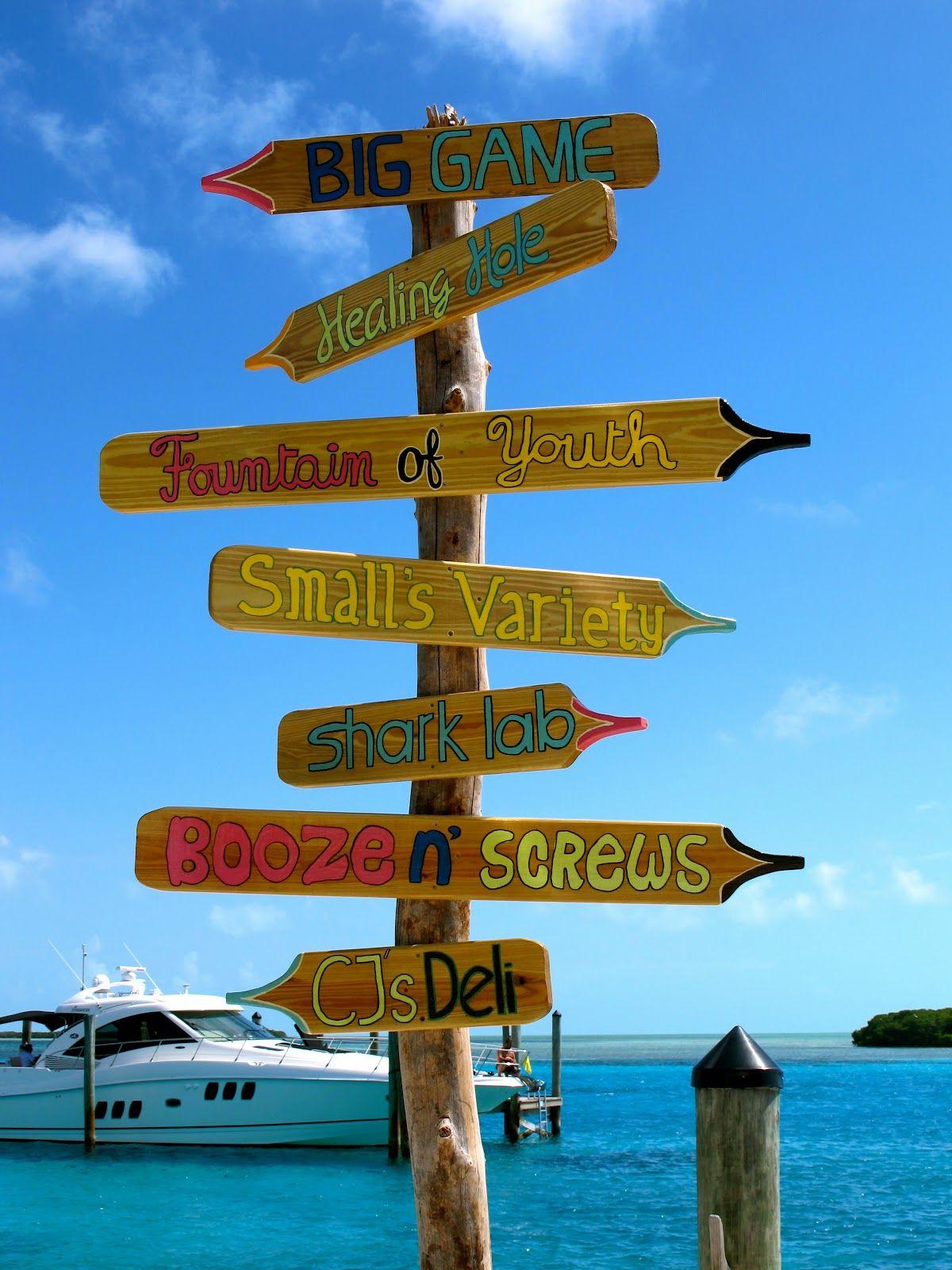 Bimini famous bars famous bar beach bars beach signs tropical beaches conch