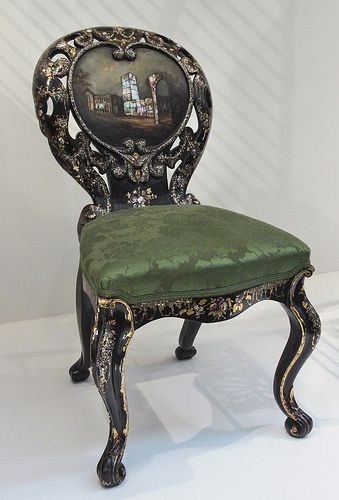 Phenomenal Chair About 1850 Probably Made By Jennes And Bettridge Download Free Architecture Designs Sospemadebymaigaardcom