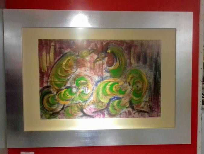 SIN TÍTULO CHUCHO REYES FERREIRA Categoría: Pintura. Técnica: Mixta sobre papel de china.   Medidas: 48 x 73 cms. Fecha: S/f. Enmarcada: Si. Firmada: Si. VENDIDO_____  WITHOUT TITLE Chucho Reyes Ferreira Category:  Painting Tecnique: Mix over China paper. Measure: 48 x 73 cms. Date: N/D. Signature: Yes. Frame: Yes. SOLD  #gael #galeriaarteenlinea #galeriartenlinea #pasiónporelarte #arte #art #cultura #culture #color #colour   VENDIDO / SOLD