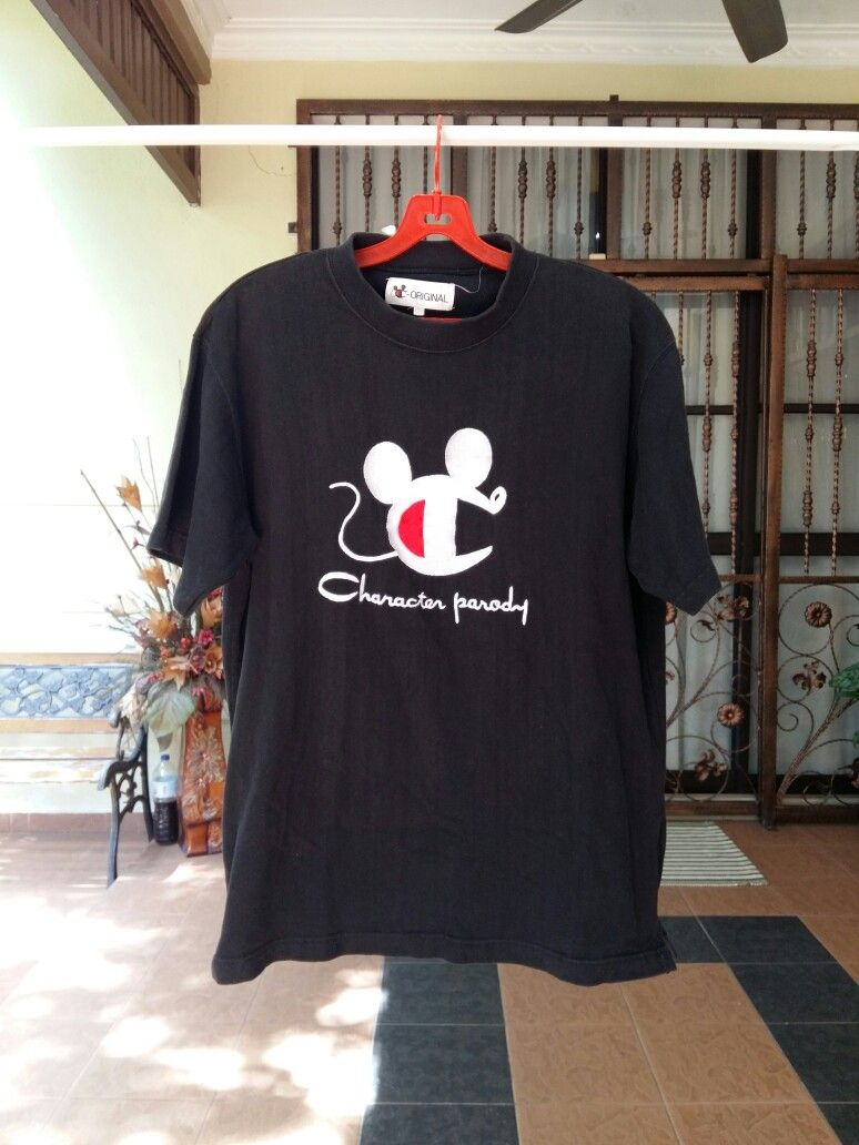 9d309dc8d Disney x Champion Character Parody T Shirt | Personal Collection ...