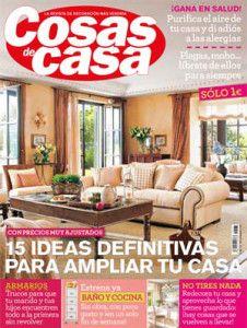 Revista Cosas De Casa Revistas De Decoraci N De Interiores Pinterest Revistas De