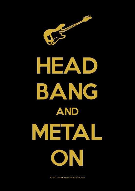 Metal On Motivacional Quotes Música Rock Musica E Paixão