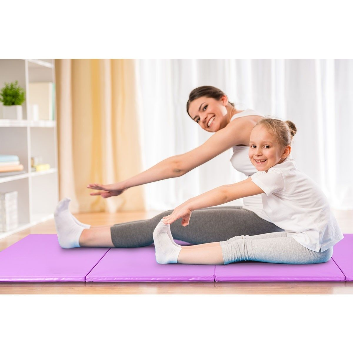 Portable Gymnastic Fitness Exercise Mat