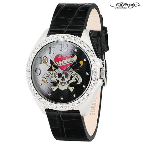 Ed Hardy Starlet Unisex Watch - Love Kills at 70% Savings off Retail!