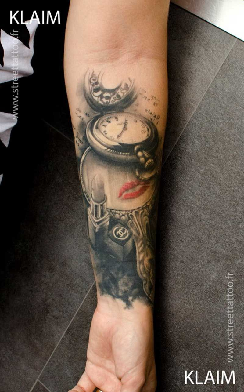 Spiegel Tattoo Digital Graphic Art Turned Into Creative Tattoo Designs By Klaim