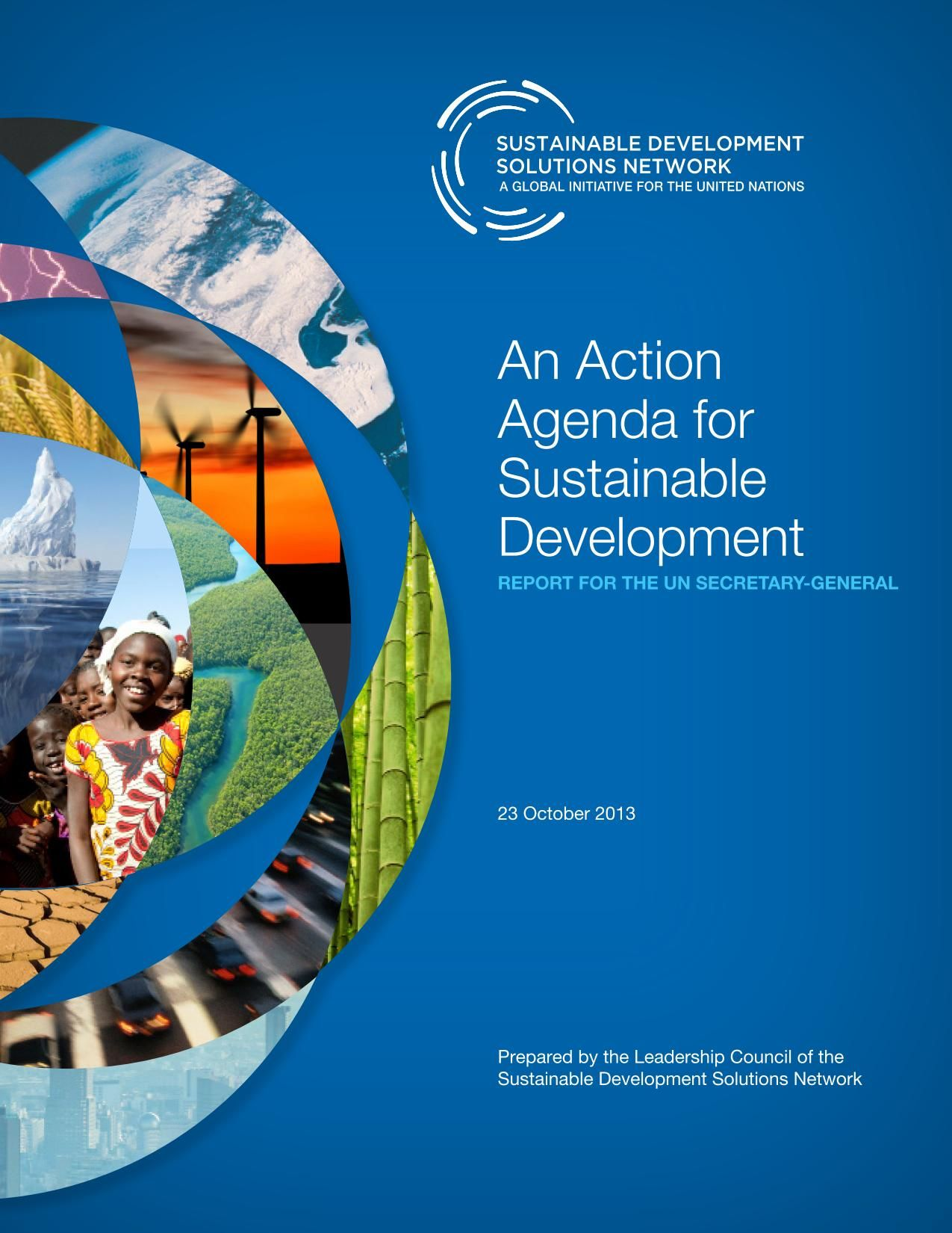 Book Cover Design Principles : Cover an action agenda for sustainable development the