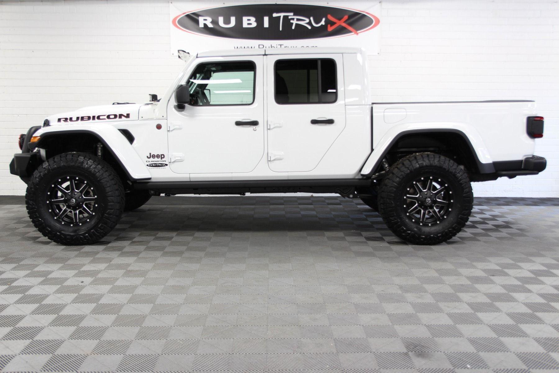 2020 Jeep Gladiator Rubicon Jt Bright White In 2020 Jeep