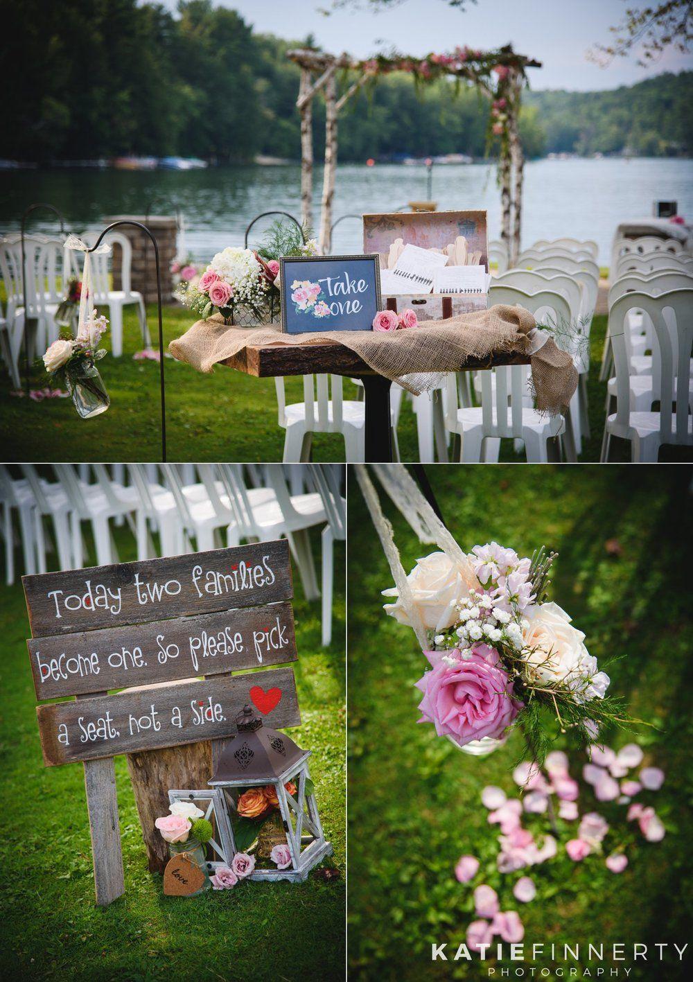 Crooked Lake House Wedding: Kenzie & Josh