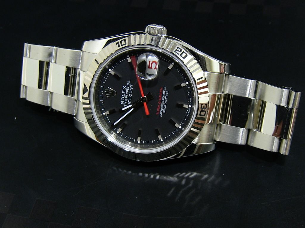 Rolex datejust turn o graph specs pictures