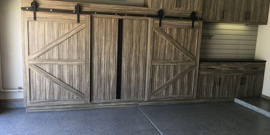 Image Result For Garage Shelves With Sliding Doors Installing