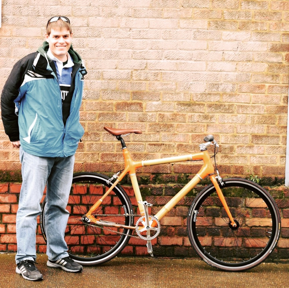 Sam S Bamboo City Bike Build In 2020 With Images City Bike