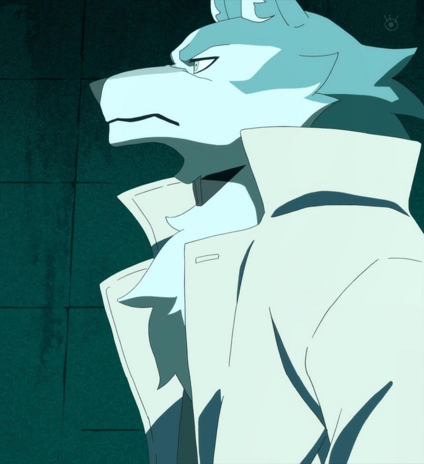 BNA, episode 9. Ōgami Shirou in 2020 Furry drawing