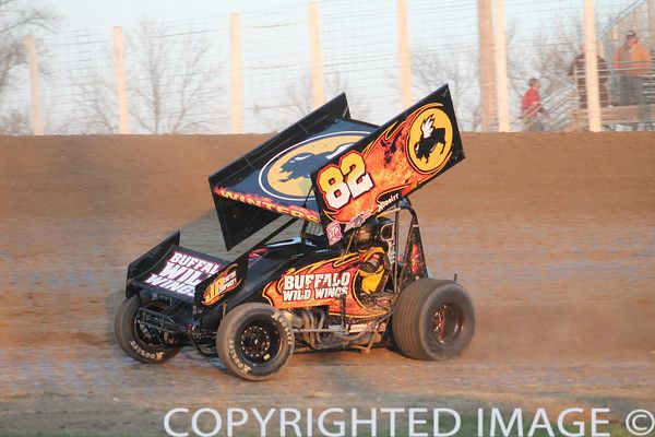Outlaw Sprint Car Driver Scott Winters From Butterfield Mn In The