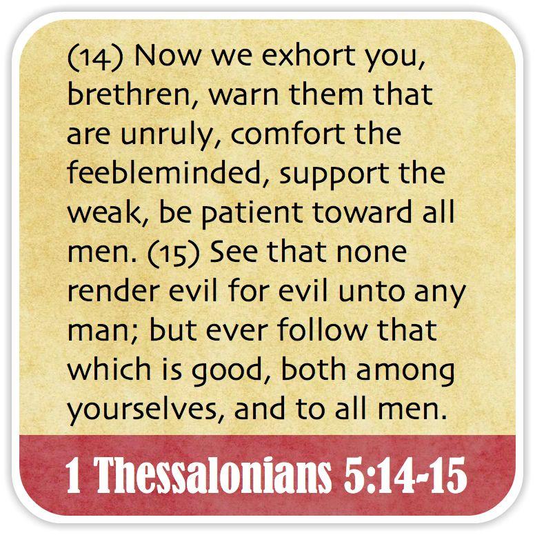 1st Thessalonians Chapter 5 Wycliffe Tyndale Geneva Kjv 1st