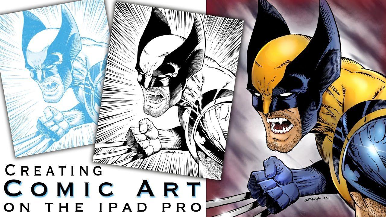 Creating Comics on the Ipad Pro with Procreate   Digital Art