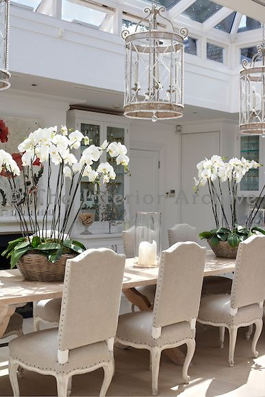 Luke White The Interior Archive Interior Long Dining Table House Interior