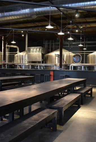 New Grove Brewery Bierhall 4465 Manchester Urban Chestnut Brewing Company Brewery Design Brewery Decor Brewery Interior