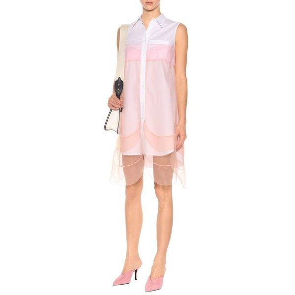 sleeveless shirt dress Prada DxJbEDBenB