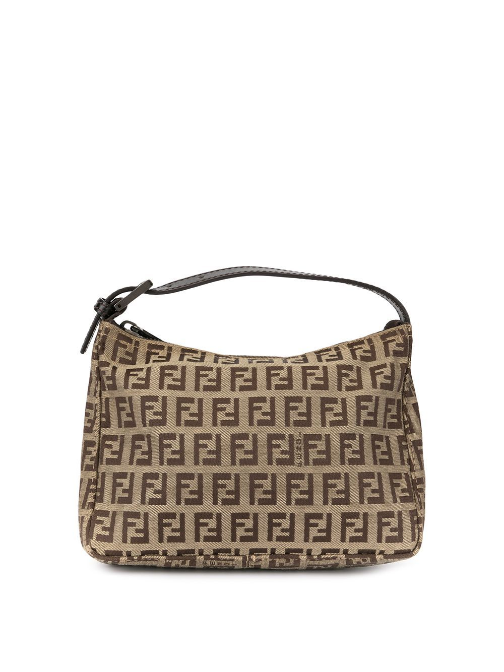 Fendi Pre Owned Zucca Pattern Handbag Farfetch Handbag Patterns Handbag Fendi
