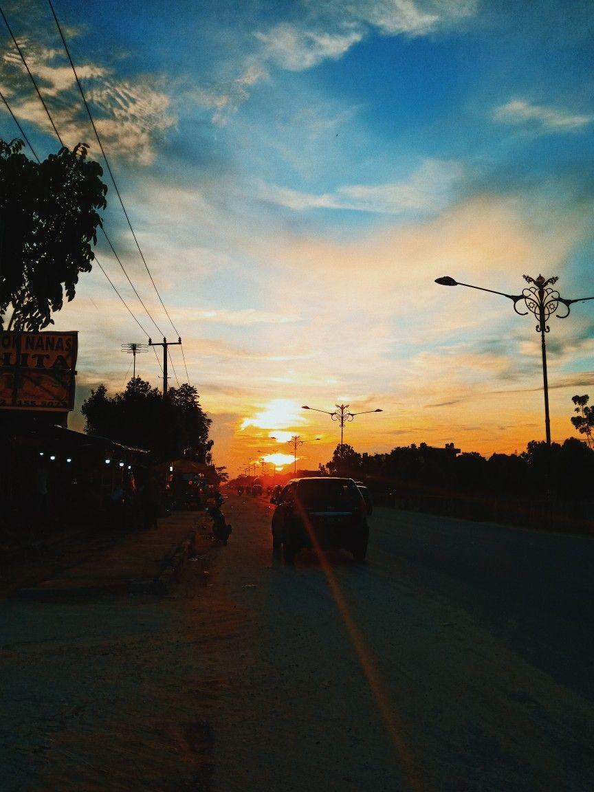 Langit Senja di Pekanbaru Kota Langit, Langit malam