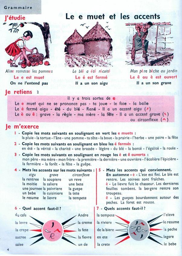 Ageorges, Anscombre, Grammaire Et Conjugaison CE : Joseph ...