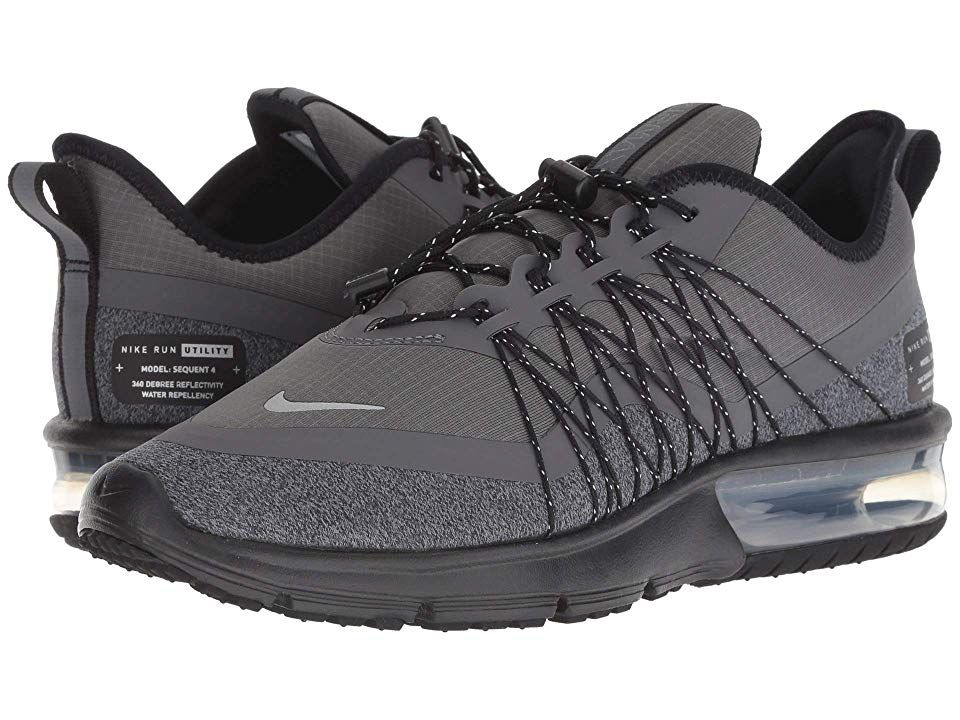 Nike Air Max Sequent 4 Shield Women's Running Shoes Dark